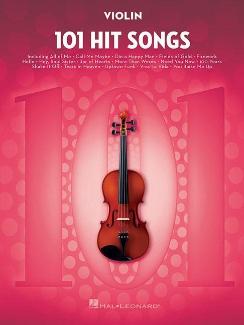 101 Hit Songs For Violin als Taschenbuch