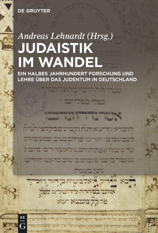 Judaistik im Wandel als Buch (gebunden)