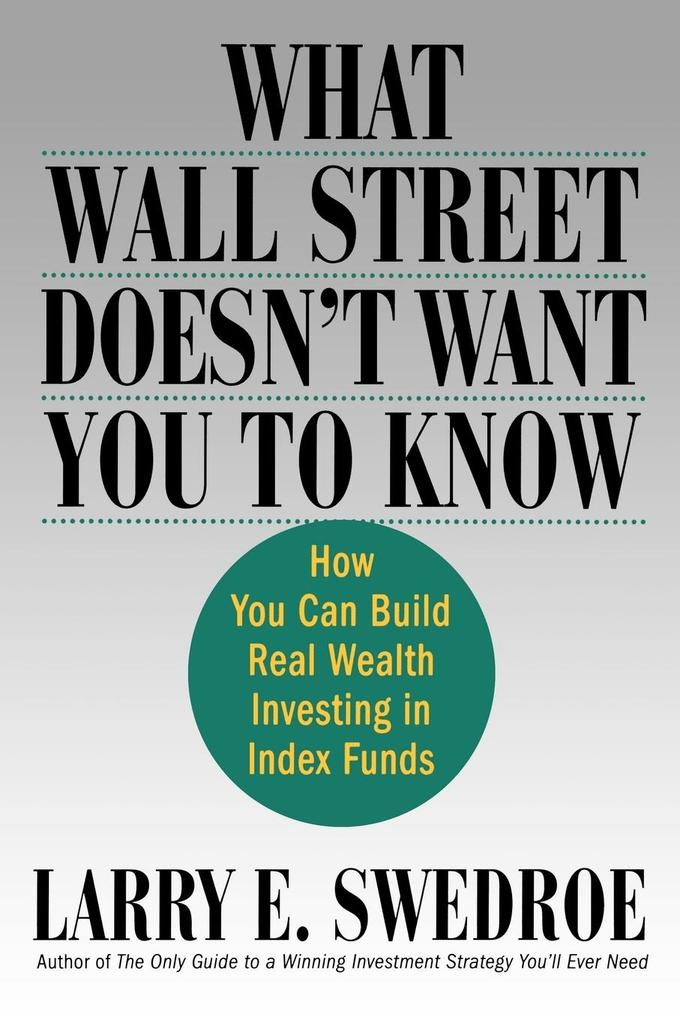 What Wall Street Doesn't Want You to Know als Buch (kartoniert)