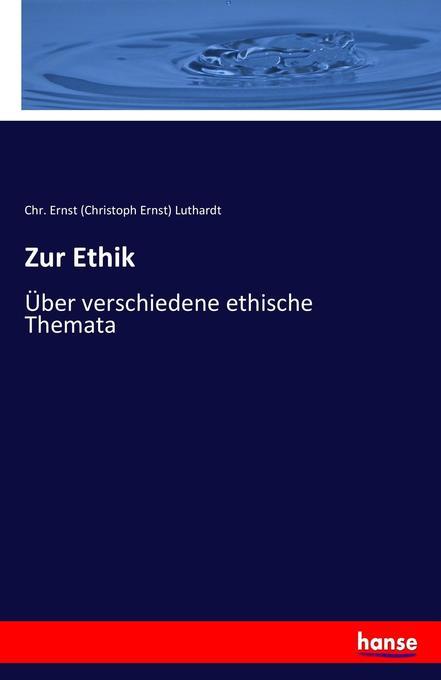 Zur Ethik als Buch (kartoniert)