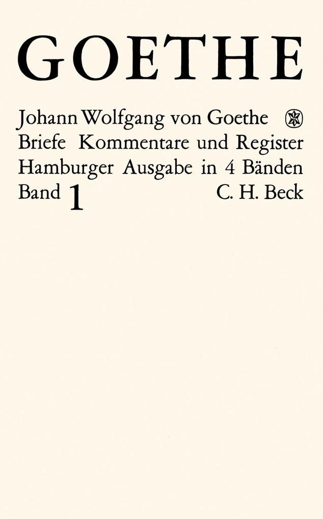 Goethes Briefe und Briefe an Goethe Bd. 1: Briefe der Jahre 1764-1786 als eBook pdf
