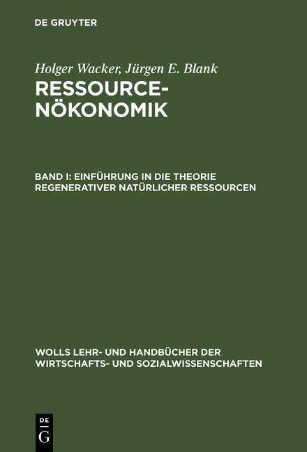 Einführung in die Theorie regenerativer natürlicher Ressourcen als eBook pdf