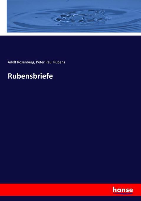 Rubensbriefe als Buch (kartoniert)