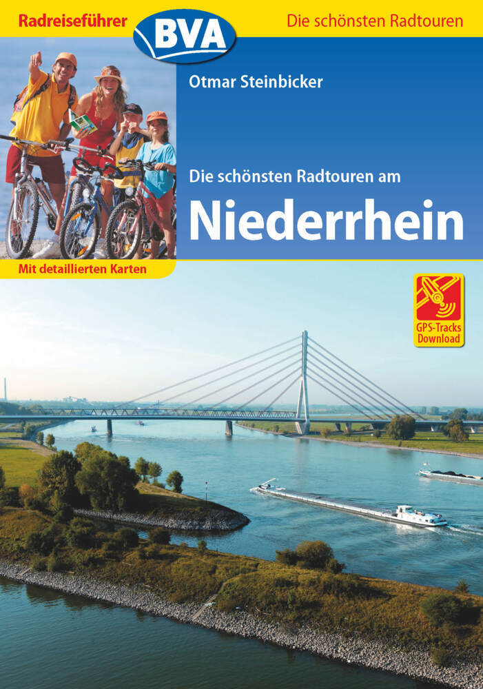 Radreiseführer BVA Die schönsten Radtouren am Niederrhein als Buch (kartoniert)
