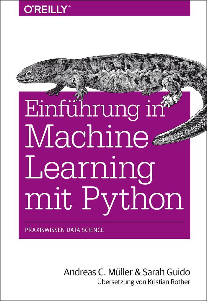 Einführung in Machine Learning mit Python als Buch (kartoniert)
