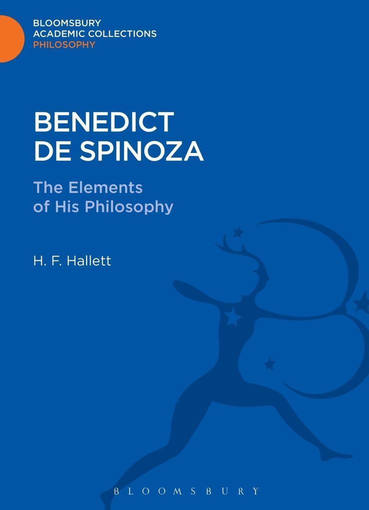Benedict de Spinoza als eBook pdf