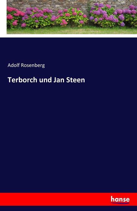 Terborch und Jan Steen als Buch (kartoniert)