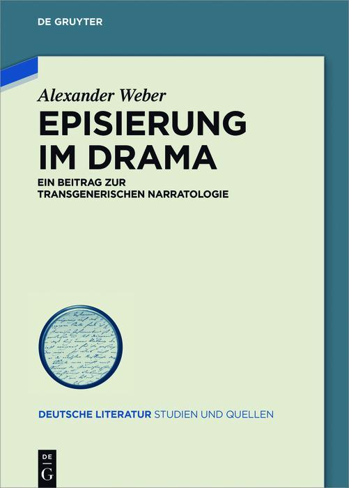 Episierung im Drama als eBook epub