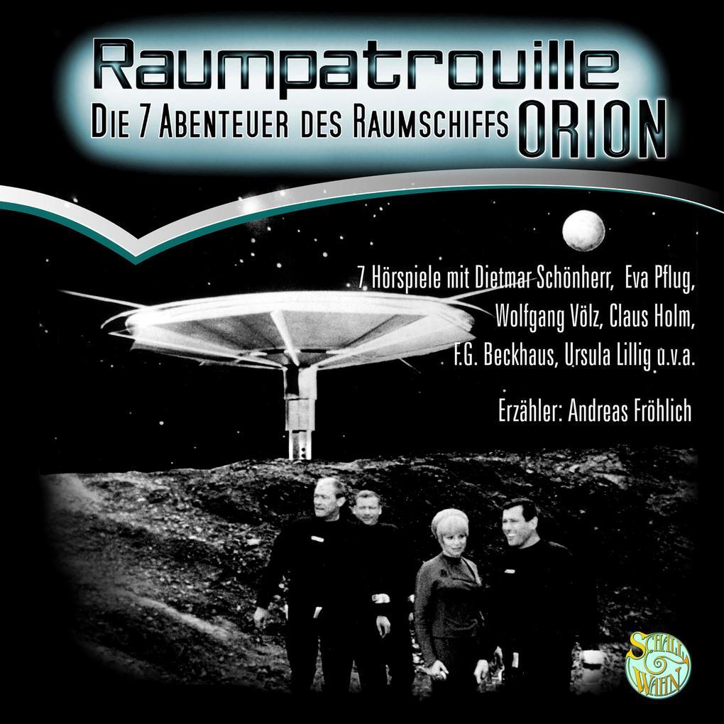 Raumpatrouille als Hörbuch Download