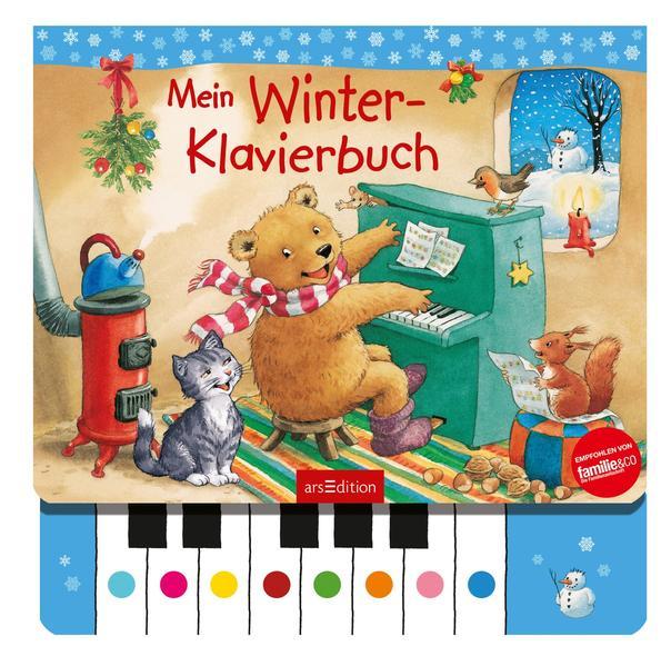 Mein Winter-Klavierbuch als Buch (kartoniert)