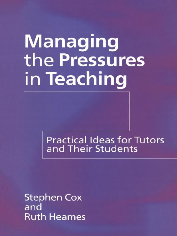 Managing the Pressures of Teaching als eBook epub