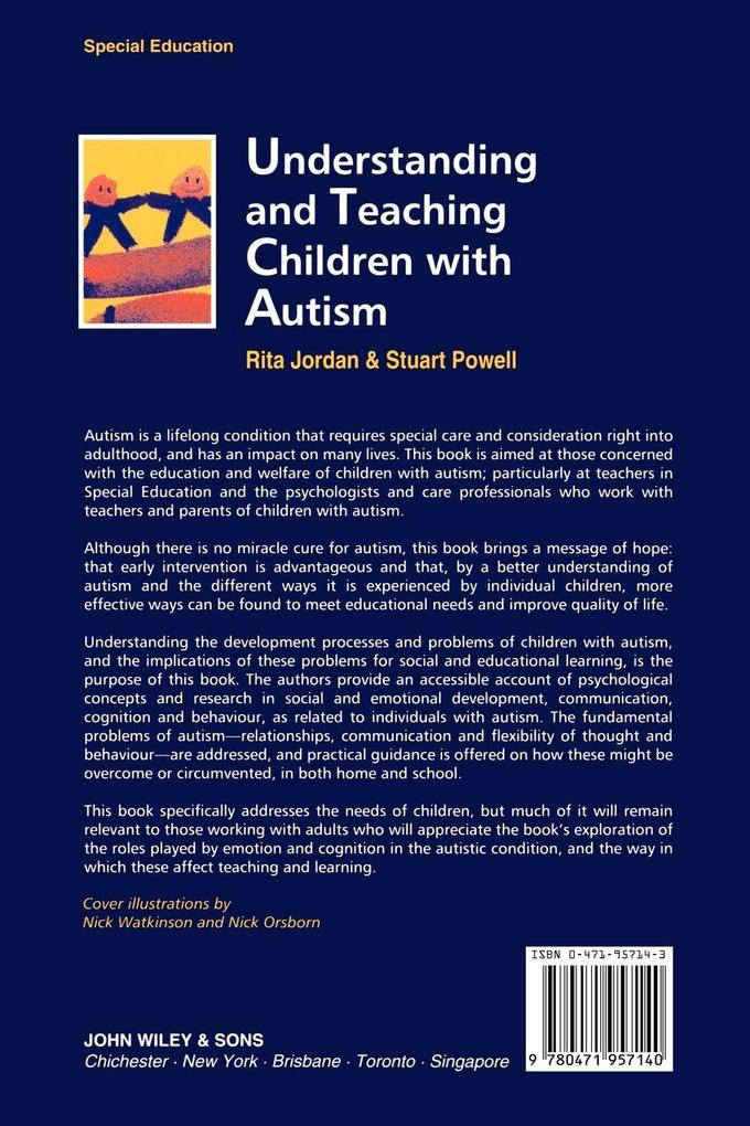 Understand  Teach Children with Autism als Buch (kartoniert)