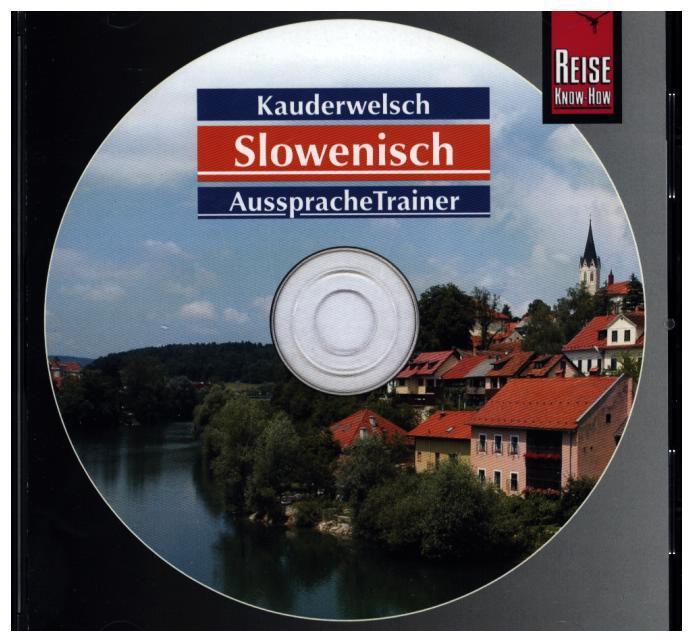 Slowenisch Wort für Wort. Kauderwelsch AusspracheTrainer. CD als Hörbuch CD