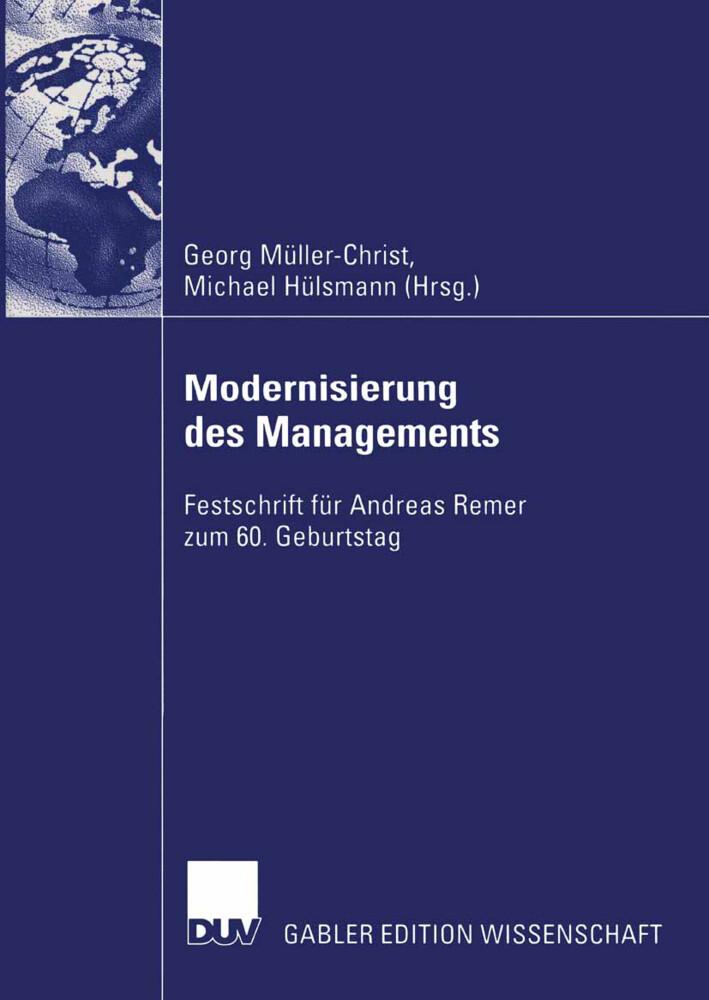Modernisierung des Managements als Buch (kartoniert)