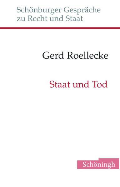 Staat und Tod als Buch (gebunden)