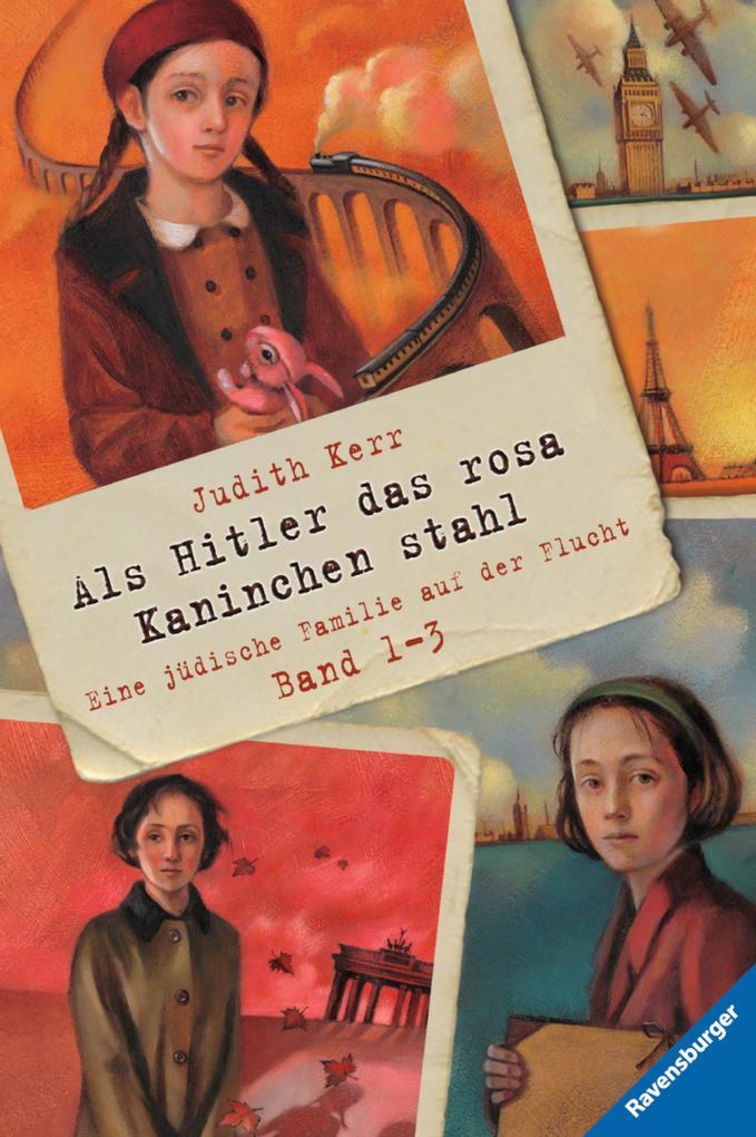 Als Hitler das rosa Kaninchen stahl, Band 1-3 als eBook