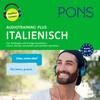 PONS Audiotraining Plus ITALIENISCH. Für Anfänger und Fortgeschrittene