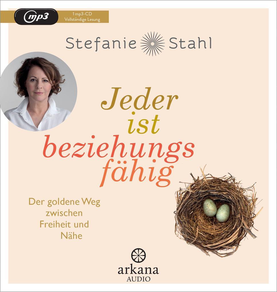 Stefanie Stahl: Jeder ist beziehungsfähig (Hörbuch CD