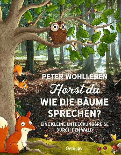 Hörst du, wie die Bäume sprechen? als Buch (gebunden)
