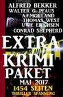 Extra Krimi Paket Mai 2017 - 1454 Seiten Thriller Spannung