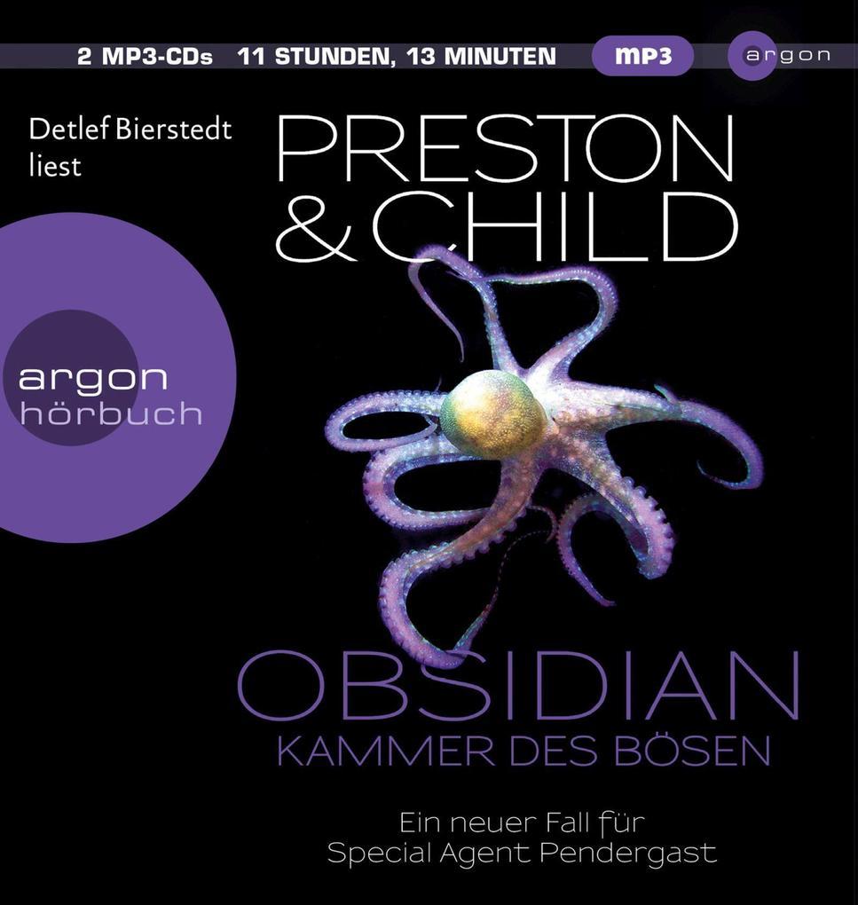 Obsidian - Kammer des Bösen als Hörbuch CD
