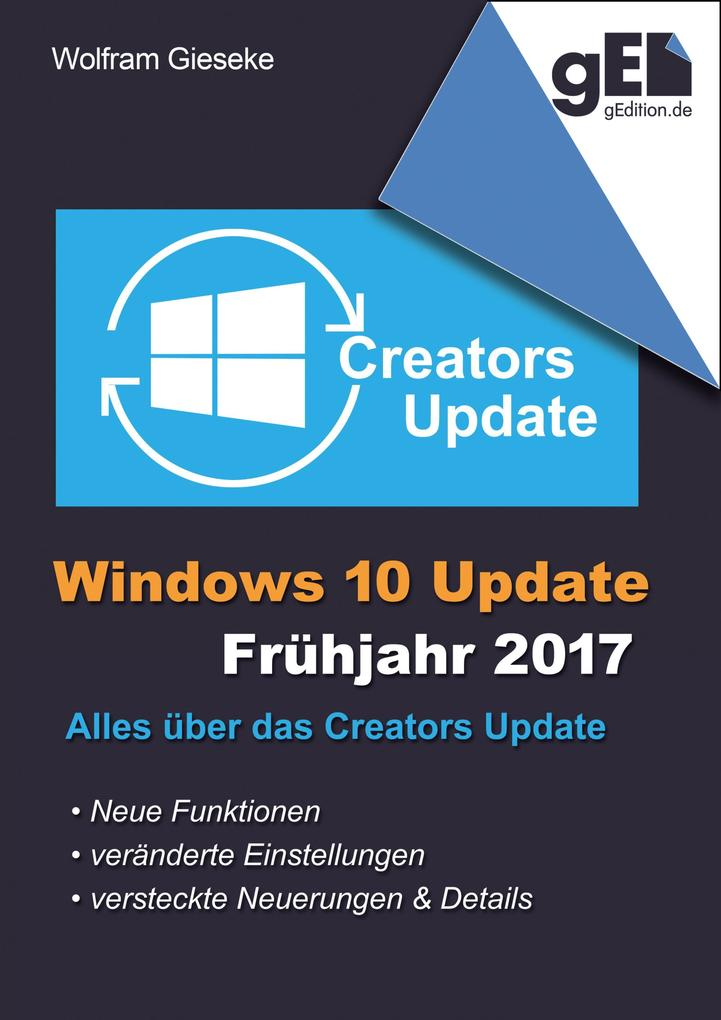 Windows 10 Update - Frühjahr 2017 als eBook epub