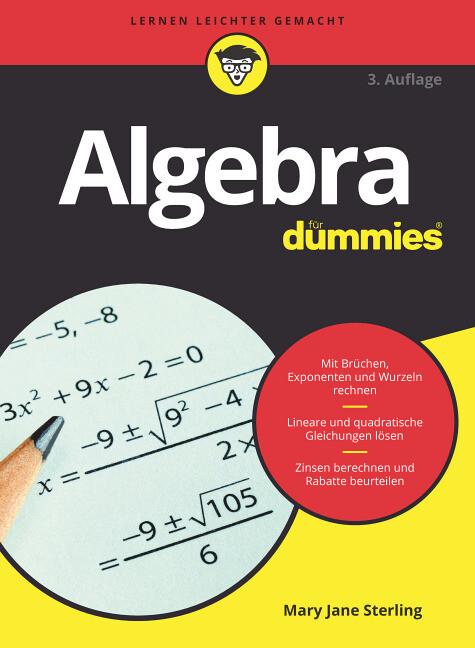 Algebra für Dummies als Buch (kartoniert)