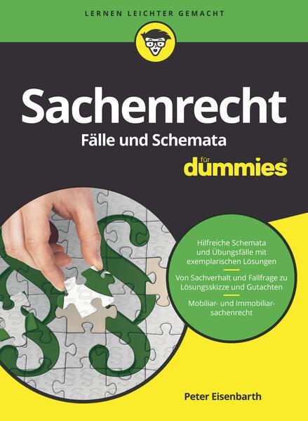 Sachenrecht Fälle und Schemata für Dummies als Buch (kartoniert)