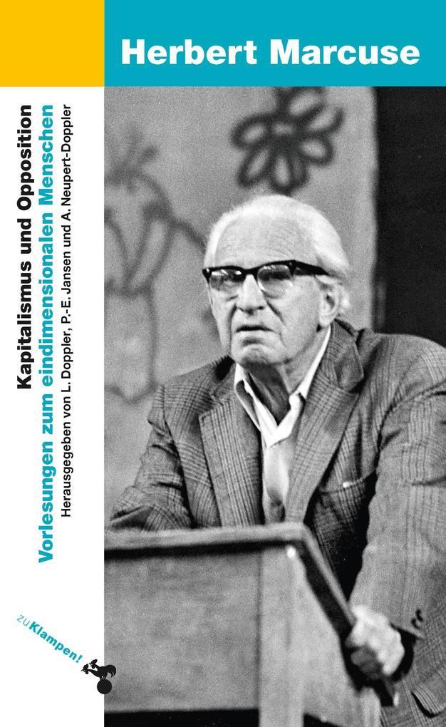 Kapitalismus und Opposition als Buch (kartoniert)