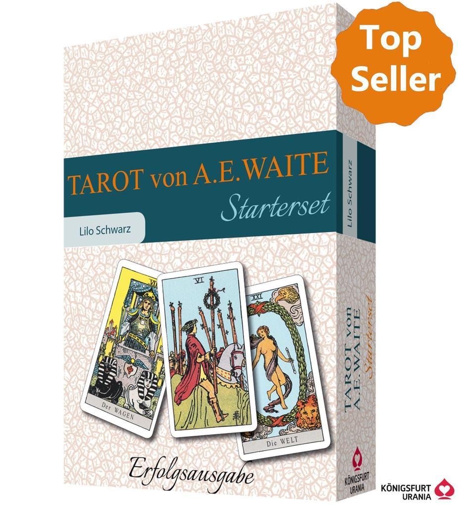 Tarot von A.E. Waite. Das Starterset als Buch (kartoniert)