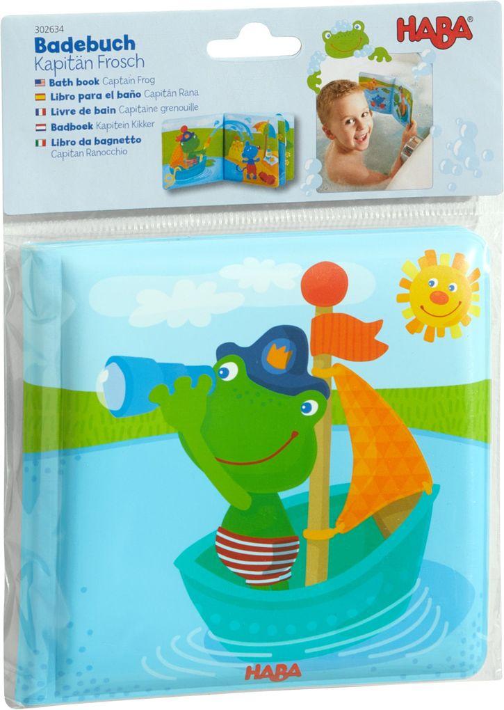 Badebuch Kapitän Frosch als Buch (gebunden)