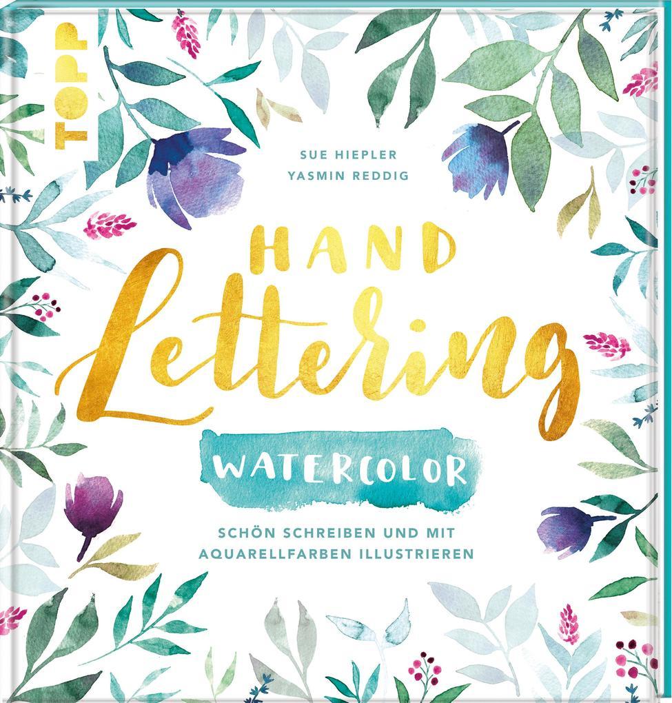 Handlettering Watercolor als Buch (gebunden)