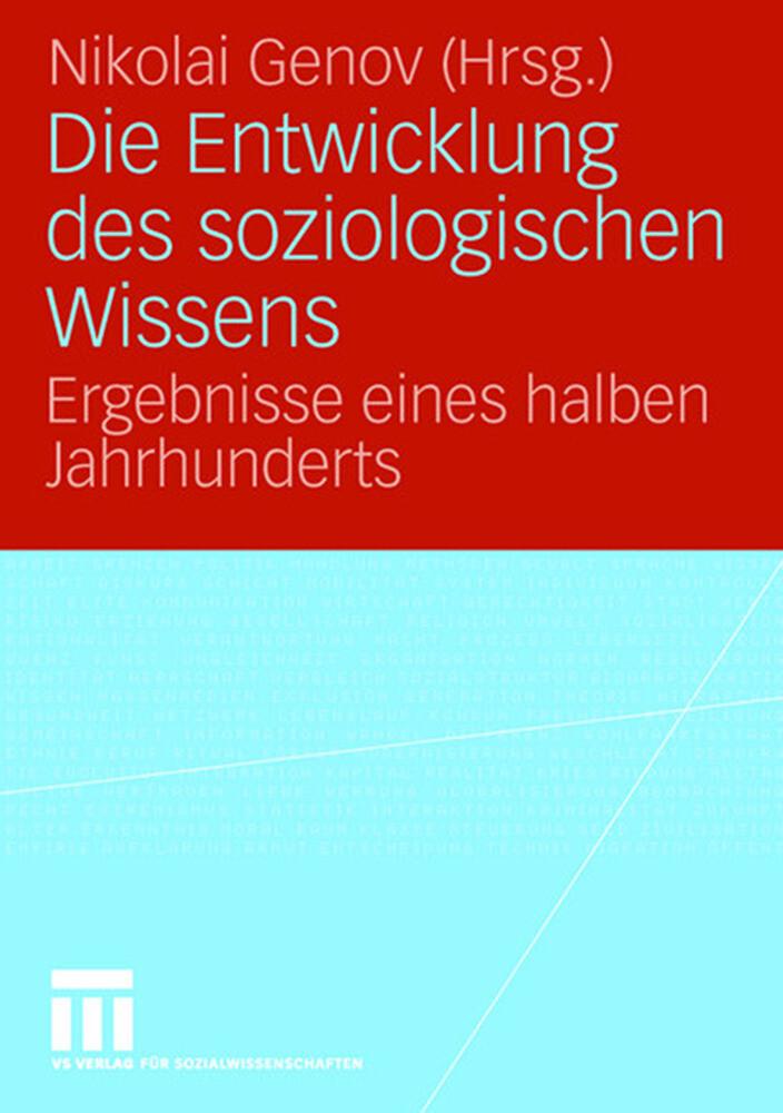 Entwicklung des soziologischen Wissens als Buch (kartoniert)