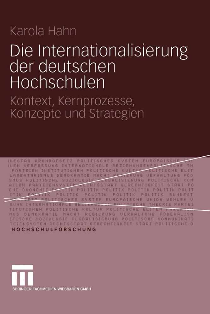 Die Internationalisierung der deutschen Hochschulen als Buch (kartoniert)