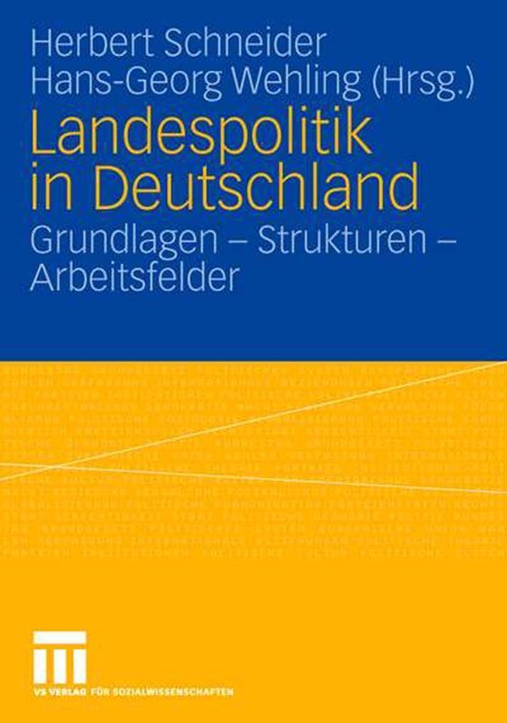Landespolitik in Deutschland als Buch (kartoniert)