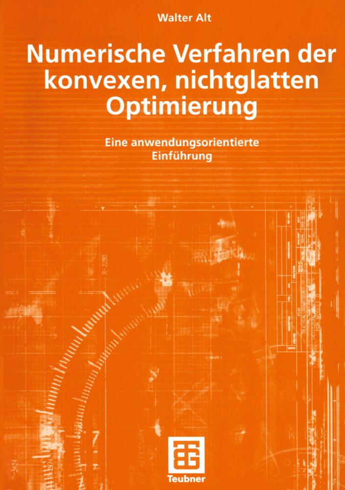 Numerische Verfahren der konvexen, nichtglatten Optimierung als Buch (kartoniert)