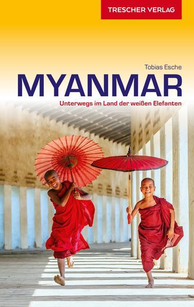Reiseführer Myanmar als Buch (kartoniert)