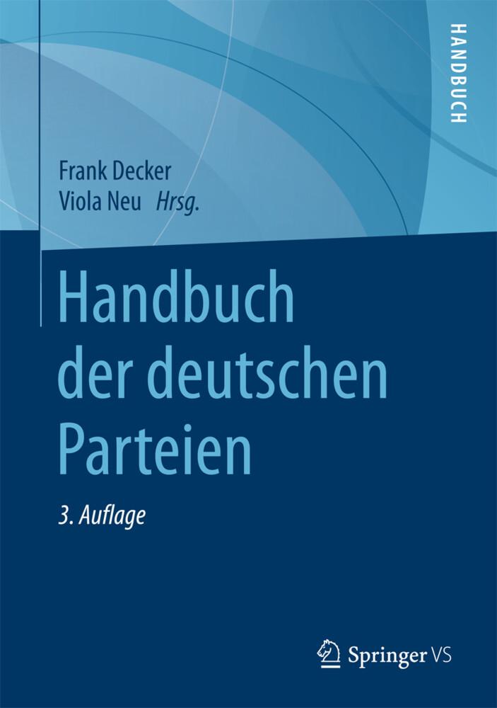 Handbuch der deutschen Parteien als Buch (gebunden)