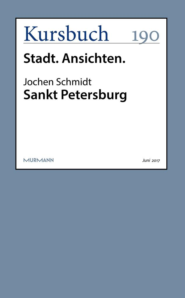 Sankt Petersburg als eBook epub