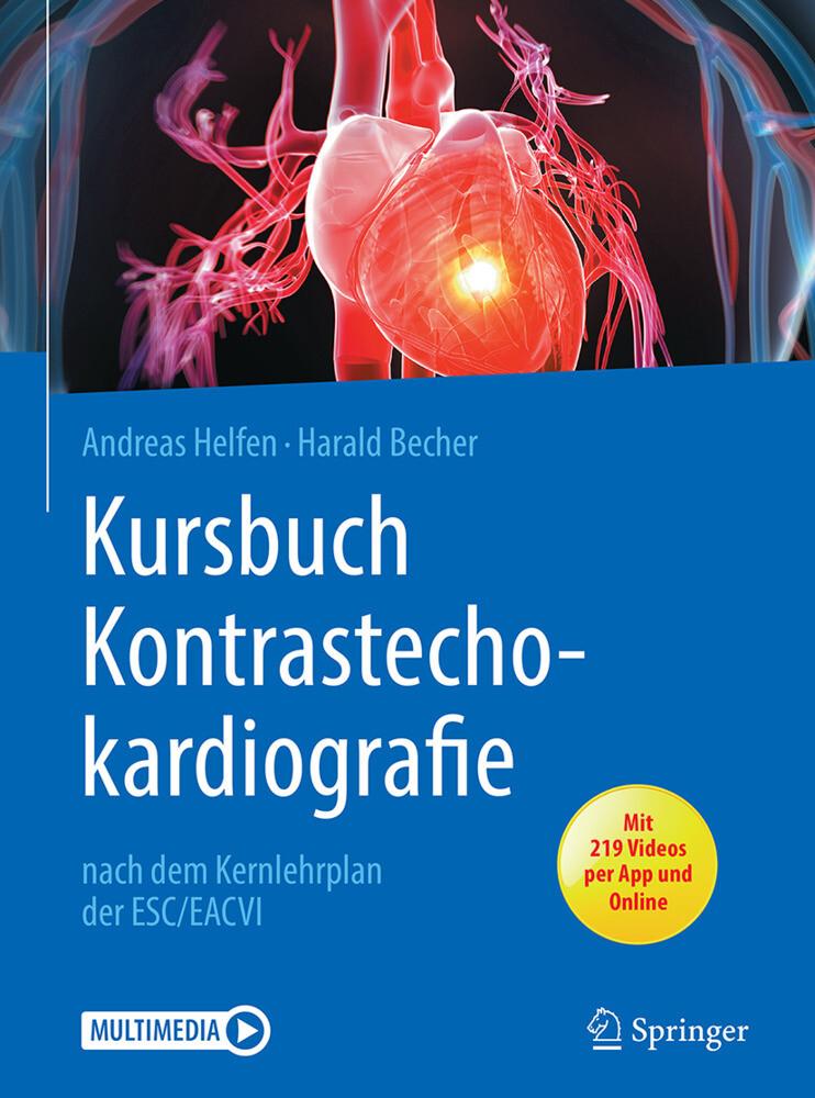 Kursbuch Kontrastechokardiografie als Buch