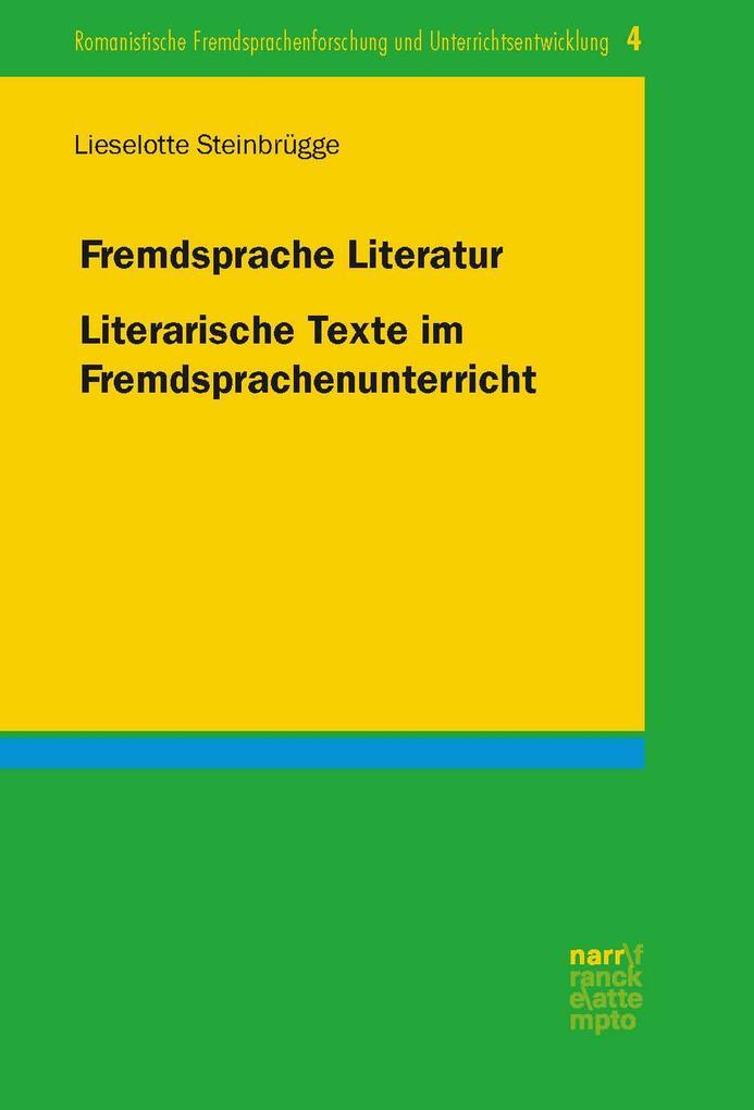 Fremdsprache Literatur als eBook