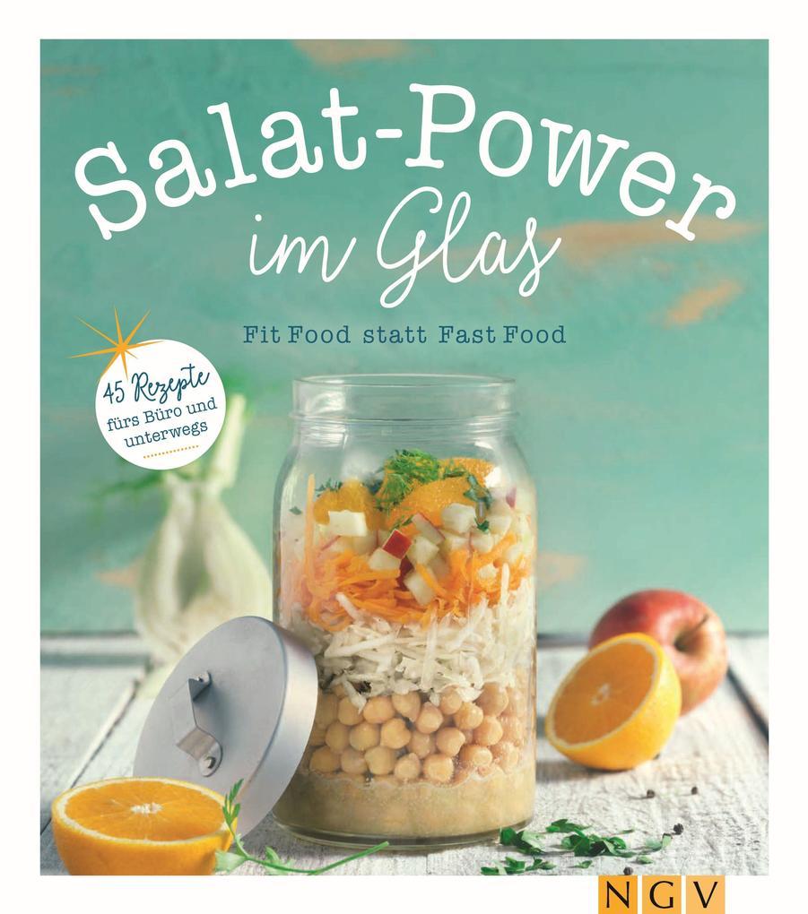 Salatpower im Glas als eBook epub