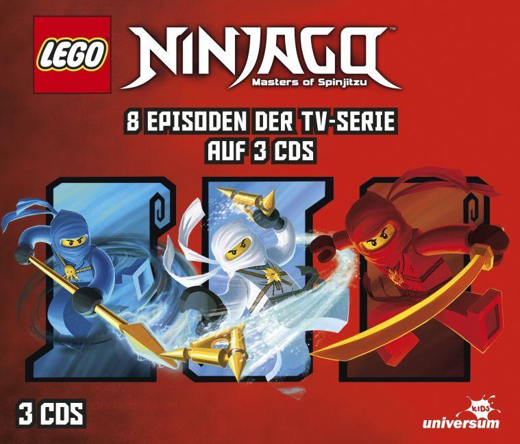 LEGO® Ninjago Hörspielbox 1 als CD