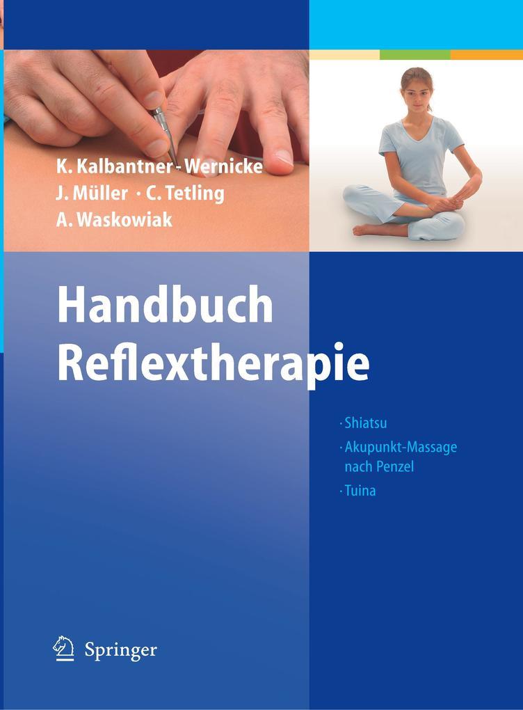Handbuch Reflextherapie als Buch (gebunden)
