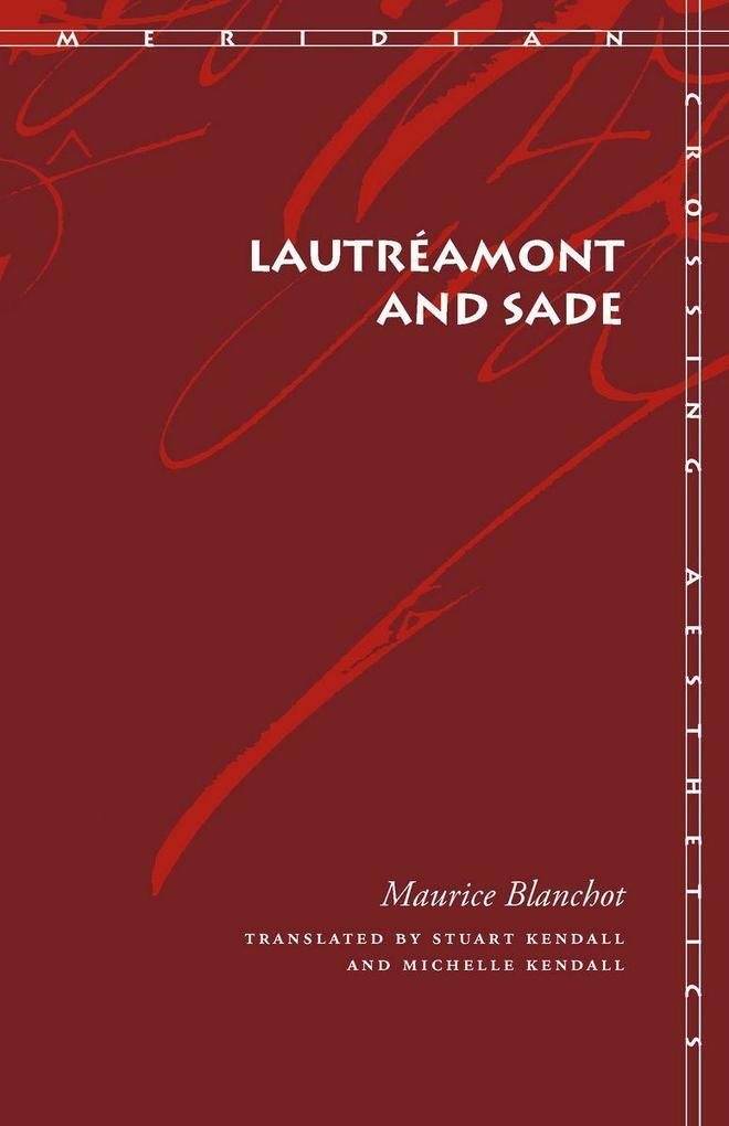 Lautréamont and Sade als Taschenbuch