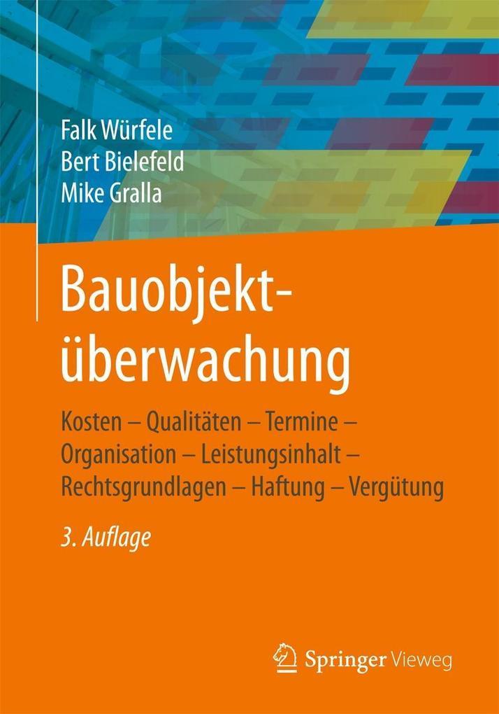 Bauobjektüberwachung als eBook pdf