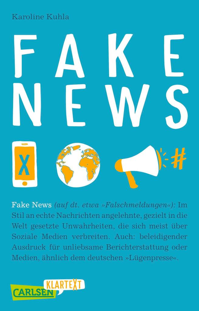 Carlsen Klartext: Fake News als eBook epub