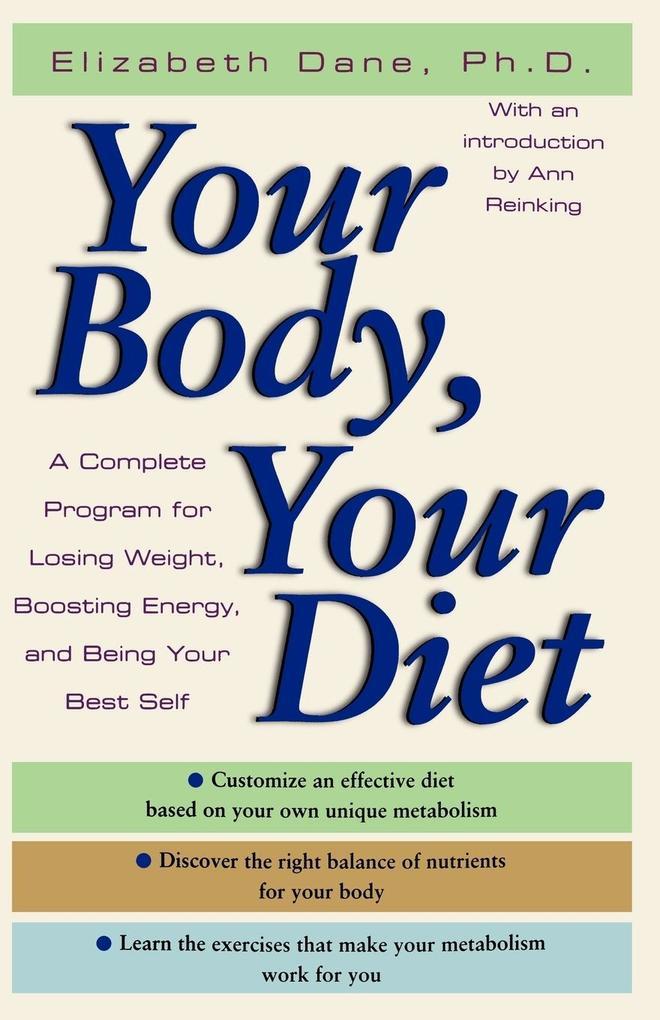 Your Body, Your Diet als Taschenbuch