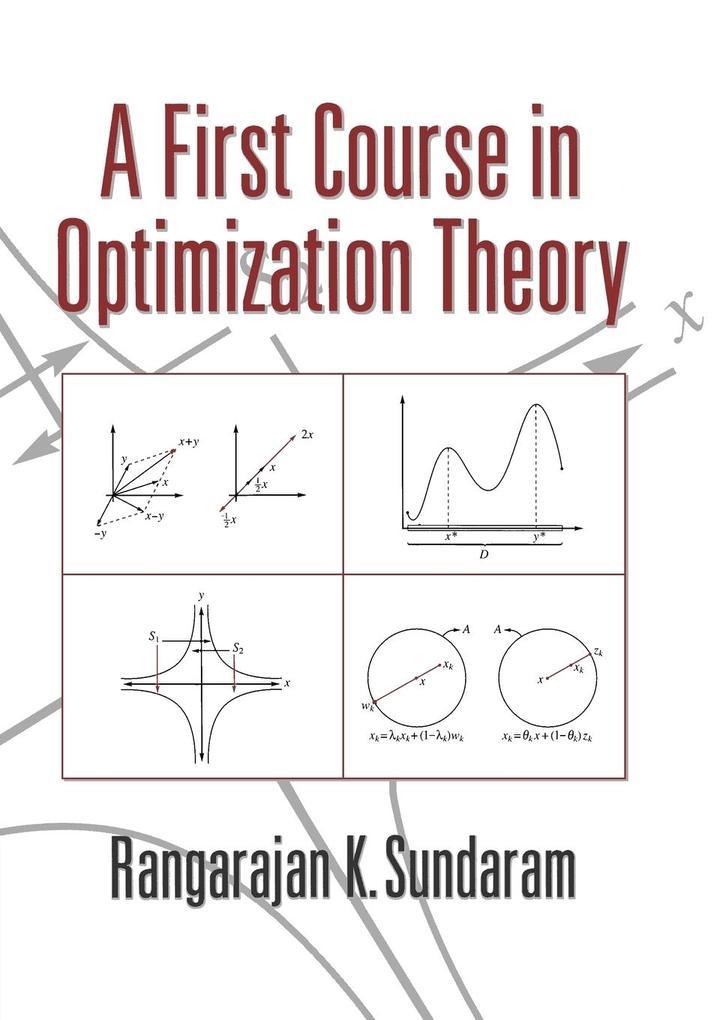 A First Course in Optimization Theory als Buch (kartoniert)