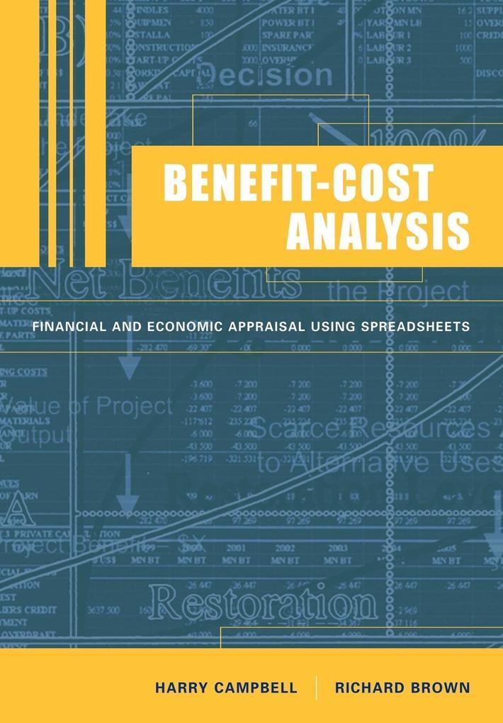 Benefit-Cost Analysis als Buch (kartoniert)